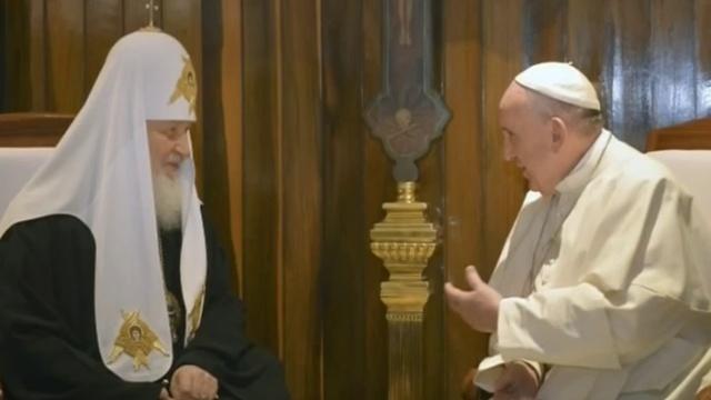 Встреча Папы с Патриархом не было бы счастья, да несчастье помогло