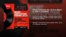 Piano Concerto No 23 in A Major K 488 II Andante