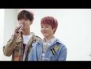 180415 Jinho Hongseok talk about their birthday @ Fansign