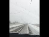 Первый снег в Красноярском крае