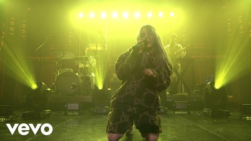 Billie Eilish - Bellyache (Live On The Tonight Show Starring Jimmy Fallon, US / 2018)