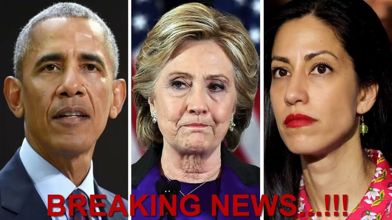 OH MY..!! What GOT RELEASED From Huma Abedin Have Hillary DEEPSTATE TUMBLING DOWN NOW!!