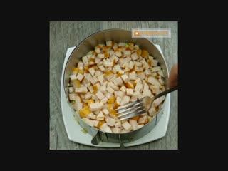Любимый салат ! После того как вы его попробуете, вы поймете почему! k.,bvsq cfkfn ! gjckt njuj rfr ds tuj gjghj,etnt, ds gjqvtn