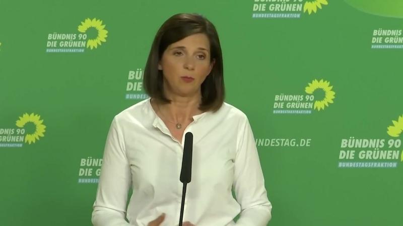 Göring-Eckardt weiter gegen Bamf-Untersuchungsauschuss – wirft FDP versuchten Populismus vor