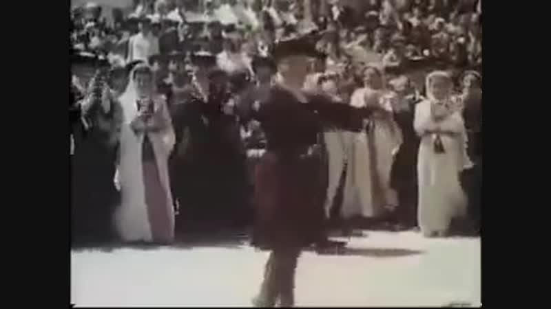 Осетинский танецСимд в г.Сталинир(Цхинвал)1951г.