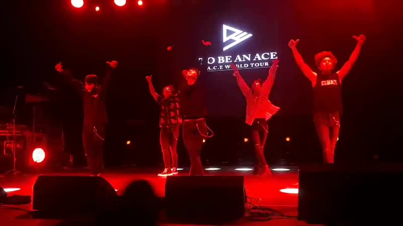 FANCAM | 16.11.18 | A.C.E (Call The Ambulance) @ Fan-con 'To Be An ACE' in Argentina
