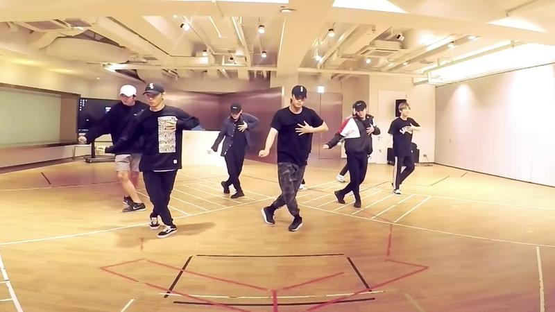 EXO 엑소 닿은 순간 (Ooh la la la) dance practice