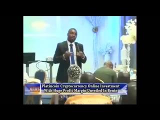 Platincoin на новостном канале Африка