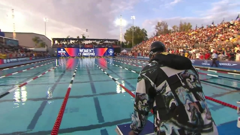 Women's 50m Free A Final _ 2018 Phillips 66 National Championships