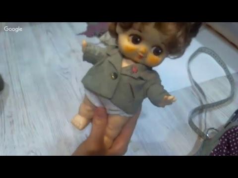 Альбина Глумова.Съемный пиджак для кукол и тедди.