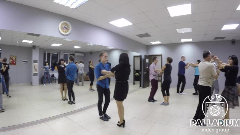 11.10.2018 - На занятиях в школе танцев Palladium. Сальса