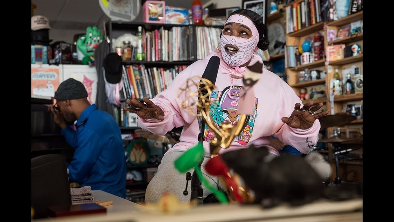 Leikeli47: NPR Music Tiny Desk Concert