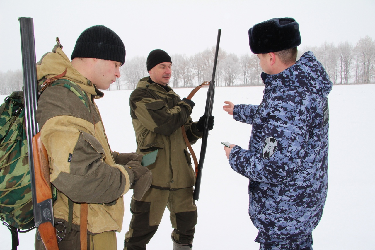 Сотрудники Росгвардии изъяли у курян 46 единиц оружия