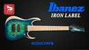 7-ми струнная электрогитара IBANEZ RGDIX7MPB IRON LABEL