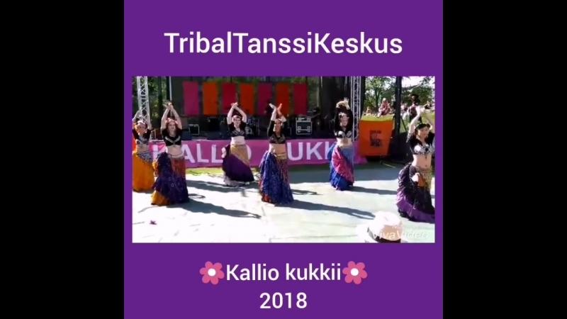 TribalTanssiKeskus. Танцуют студенты.