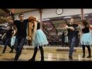 Парные танцы хастл - Старшая группа. Новогодний отчетный концерт Dance Fox, г. Кемерово