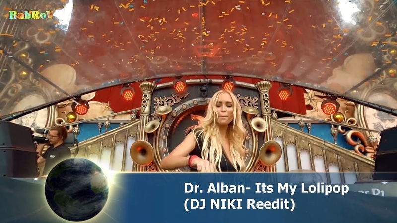 Dr. Alban - Its My Lolipop (DJ NIKI Reedit)