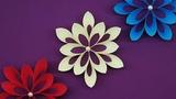 Beautiful 3D Christmas Snowflakes DIY Christmas Tree Ornaments