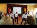 Танец на концерте в честь последнего звонка. 9 класс, Гимназия 9, Химки