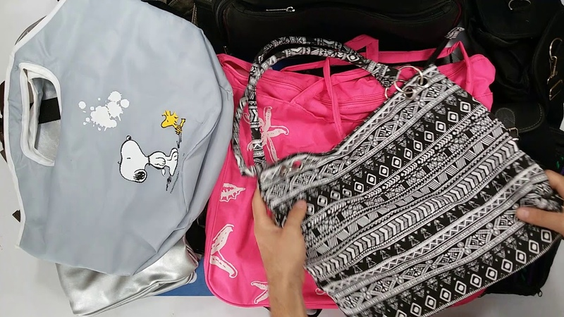 1361 Backpacks Mix (10 kg) 9пак - сумки/рюкзаки микс Англия
