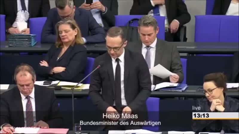 BESCHÄMEND Bystron (AfD) konfrontiert Maas mit Hetzjagd-Lüge – der lügt weiter Chemnitz