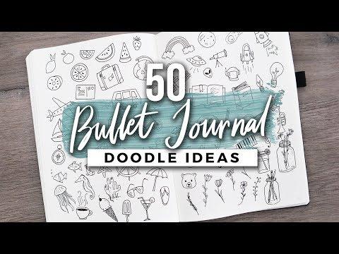 50 (MORE) Bullet Journal Doodle Ideas!