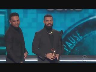 Речь Drake на «Грэмми»