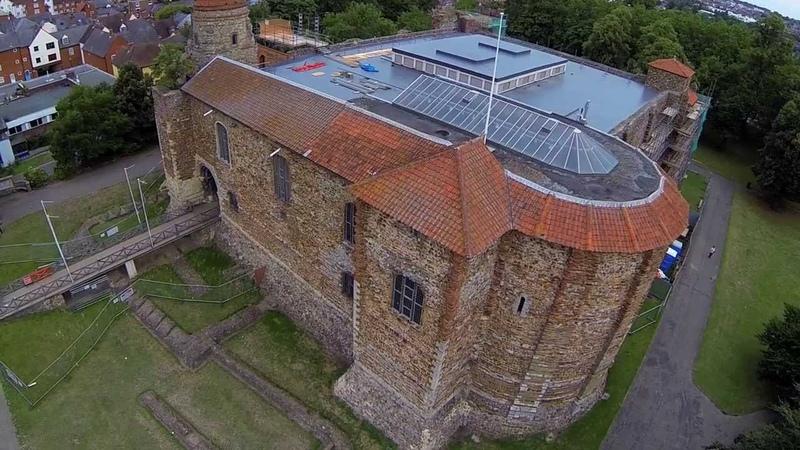Colchester Castle Park (Aerial)