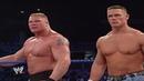 Brock Lesnar John Cena Vs Kurt Angle The Undertaker PART 1 (44th Cena Match) - SMACKDOWN 2003