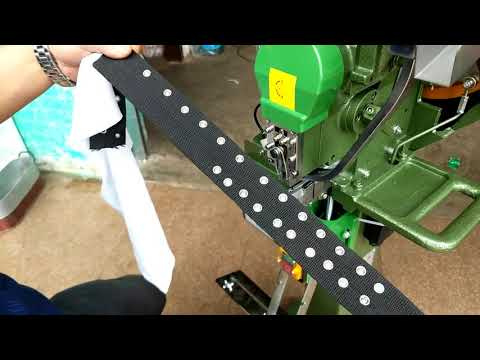 Automatic Snap Button Press Machine for Plastic Snap Prong Snap Spring Snap