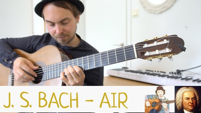 J. S. Bach - Air (Fingerstyle Jazz) Lucas Brar