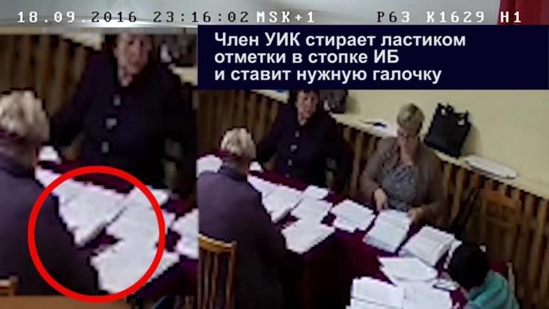 Как воровали голоса в Самарской обл- 6 Красноармейский р-н ч.2
