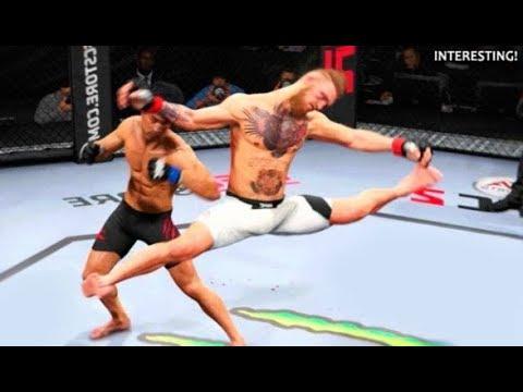 Langsung Ambruk Gerakanya Bikin Lawan Bertekuk Lutut Best MMA