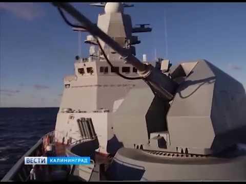 Экипажи двух кораблей провели учебные пуски и стрельбы