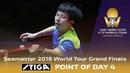 Point of Day 4 by Stiga | Lin Gaoyuan vs Tomokazu Harimoto | 2018 ITTF World Tour Grand Finals