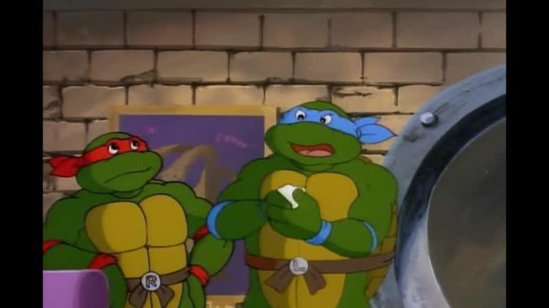Ты ещё не выпутался из этой видео игры! - TMNT (1987)