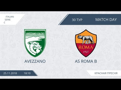 AFL18. Italy. Serie C. Day 30. Avezzano - AS Roma B