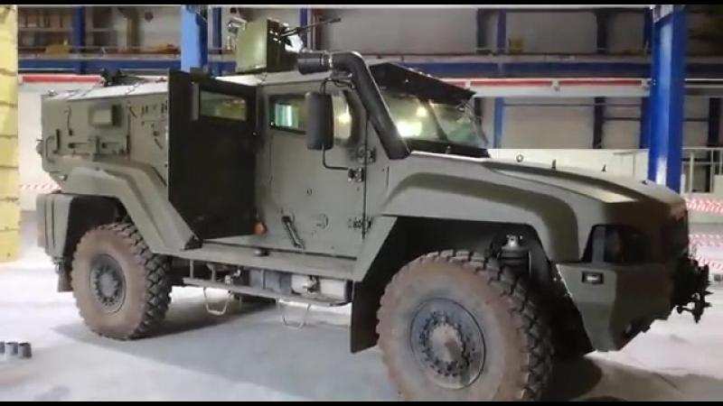 Уралвагонзавод стабилизировал боевой модуль для бронемашин Тайфун