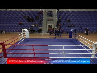 XVII Открытое Всероссийское Соревнование по боксу на призы Н.Д, Хромова 2018 Ивантеевка День 3