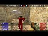 Шоу-Матч по CS 1.6 FRAGDANCE -vs- D-Generation X @ by kn1fe