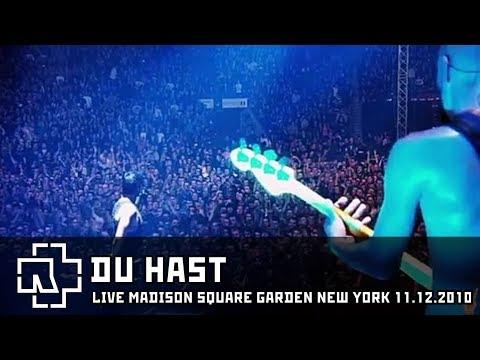 Rammstein - Du Hast Live in New York 11.12.2010 [Multicam]