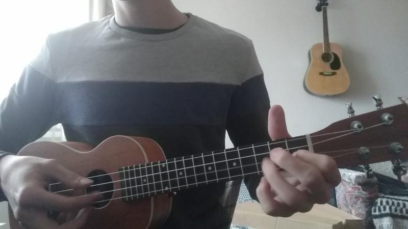 мелодия из крёстного отца на укулеле