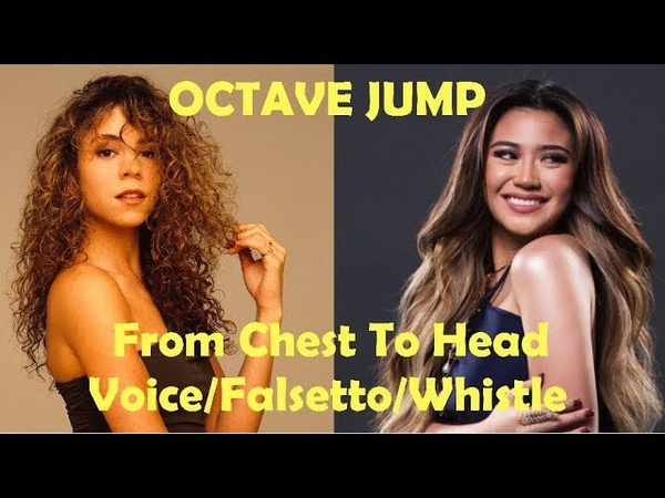 OCTAVE JUMP - From Chest Voice To Head Voice/Falsetto/Whistle Notes!