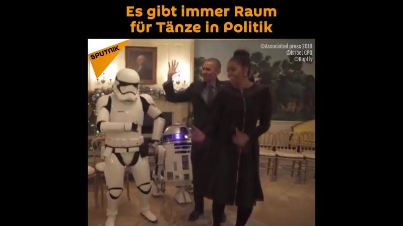 Es gibt immer Raum für Tänze in Politik!