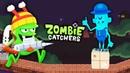 ПРЕВРАЩАЮ ЗОМБАРЕЙ в ЛЕДЫШКИ или МОРОЗИЛЬНАЯ ПУШКА в ДЕЙСТВИИ Мульт игра для детей Zombie Catchers