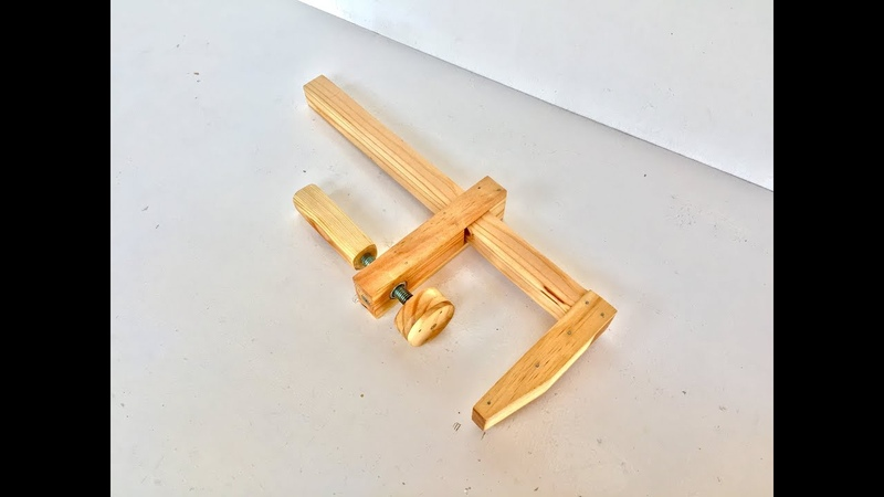 Construyendo una prensa sargento de madera | Tipo F