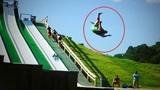 Funny Slip and Slide