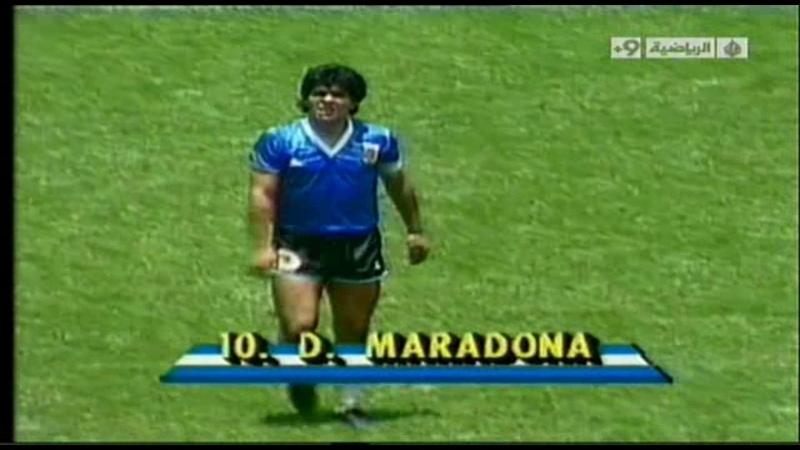 Mexico 1986: Argentina - England (2:1)