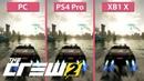 4K The Crew 2 PC Max vs PS4 Pro vs Xbox One X Graphics Comparison Open Beta
