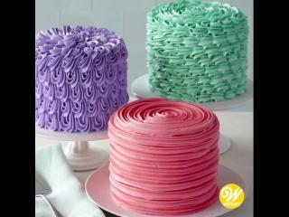 3 способа украсить торт